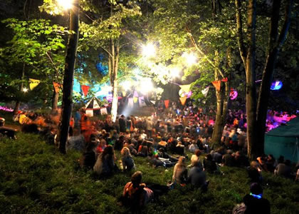 The Wilderness Festival Woods